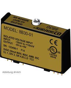 8B42 Isolierter 2-Draht-Transmitter mit Speisespannung (20 V, 100 Hz)