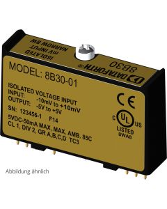 8B47 Isolierter Thermoelement-Messverstärker (linearisierend, 3 Hz)