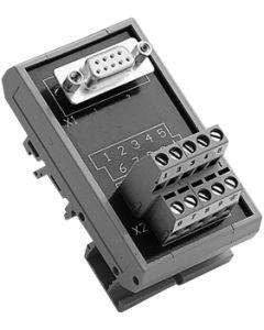 ADAM-3909-AE DB9 DIN-Schienen-Leiterplatte