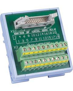 ADAM-3920-AE 20-Pin-DIN-Schienen-Flachkabelleiterplatte 1