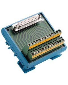 ADAM-3925-AE DB25 DIN-Schienen-Leiterplatte 1
