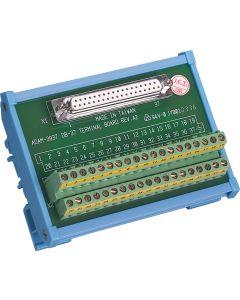 ADAM-3937-BE DB37 DIN-Schienen-Leiterplatte