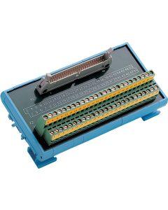 ADAM-3950-AE 50-Pin-DIN-Schienen-Flachkabelleiterplatte