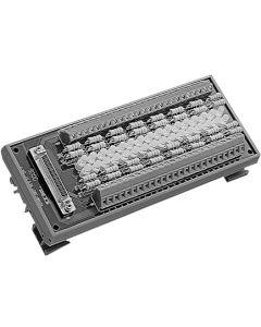 ADAM-3951-BE 50-Pin-DIN-Schienen-Leiterplatte mit LED-Anzeige