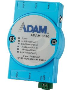 ADAM-6520-Serie: 5FE Unmanaged-Ethernet-Switch