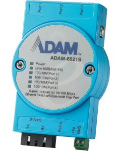 ADAM-6521-Serie: Multimode-Unmanaged-Ethernet-Switch