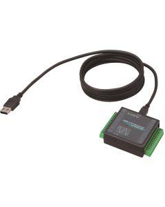AI-1608GY-USB: analoge Eingangs-USB-I/O-Einheit mit 8 Kanälen