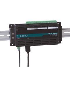 AI-1608-USB-Serie: USB 2.0-kompatible, bus-isolierte analoge Eingangs-Module