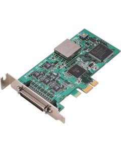 AO-1616L-LPE 16 Bit Analogausgangskarte für Low Profile PCI Express Front 1