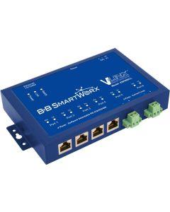 BB-ESP906CL: Serial Device-Server mit vier RJ45 RS-232/422/485
