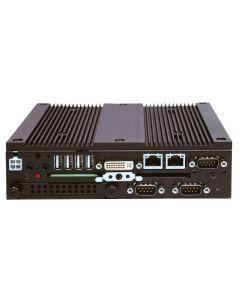 BX-S959D-DC6000, Lüfterloser Embedded PC Atom D2550, Front