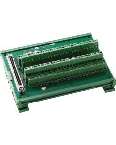 DIN-100S-01 Anschlusskarte mit 100-poliger SCSI-2-Buchse