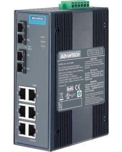 EKI-2728M/S-Serie: 6GE und 2GE Unmanaged-Ethernet-Switch