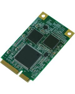 LMX-200: Mini PCIe 2-port Gigabit LAN Karte