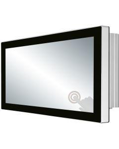 """LPC-P156W-2VE-Serie: lüfterlose Panel-PCs mit 15,6"""" PCAP und Widescreen"""