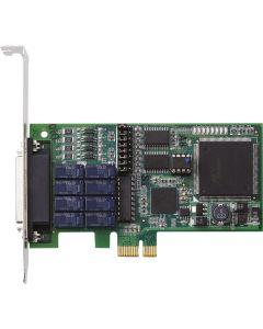 LPCIe-7250 8-Kanal Relais-Ausgangs- & isolierte 8-Kanal Digitaleingangskarte