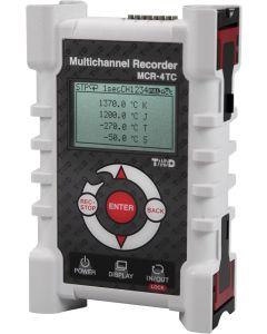 MCR-4TC 4-Kanal Temperaturlogger für Thermoelemente Front