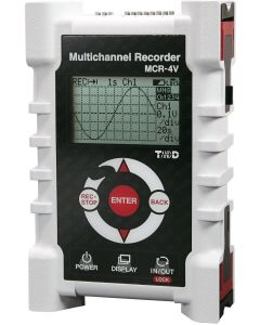 MCR-4V 4-Kanal Datenlogger für Spannung Front