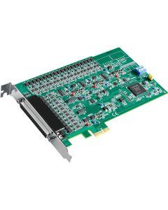 PCIE-1824-Serie: 16-Bit PCI-Expresskarte mit 32 oder 16 analogen Ausgangskanälen