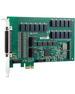 PCIe-7256 Schließbare Relaisausgangs- & isolierte Digitaleingangs-Karte