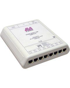 PI-8-232-RJ45 8-Port Ethernet-zu-Seriell-Umsetzer