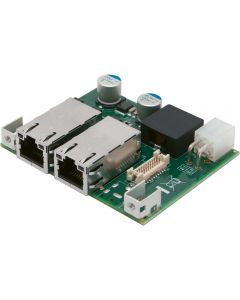 PMX-100: Mini PCIe 2-Port PoE+ GigE-Karte