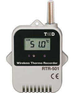 RTR-501 Robuster Funk-Datenlogger mit internem Sensor Front