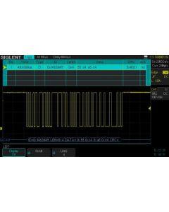 SDS-2000X-DC Bus-Dekodierung, CAN
