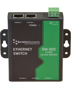 SW-005 Industrie-5-Port-Ethernet-Switch Front