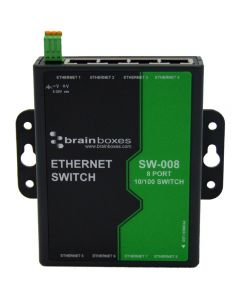 SW-008: Ethernet-Switch mit acht Ports