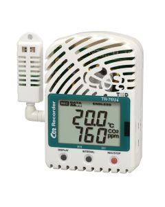 TR-76Ui 3-Kanal USB-Datenlogger für Temperatur-, Feuchte- und CO2-Messung