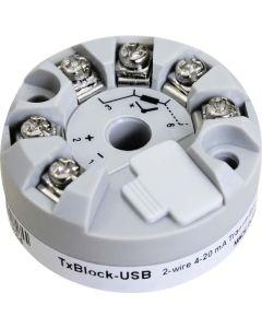 TxBlock-USB: hochpräziser Temperatur-Transmitter