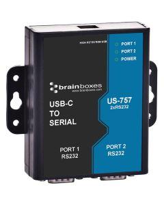 US-757 USB-C-zu-Seriell-Umsetzer
