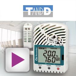 PLUG-IN zeigt alle Fakten zum T&D-Datenlogger TR-76Ui als Aerosol-Frühwarnsystem im Video auf.