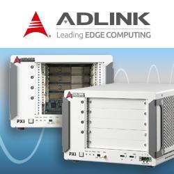 PXES-2314T von Adlink bei PLUG-IN Electronic: Das kompakte Thunderbolt 3 PXIe-Chassis bringt ein hohes Maß an Portabilität für Test- und Messanwendungen mit.