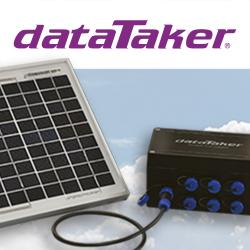 DT90: autonome Datenlogger-Serie mit optionalem Solarmodul