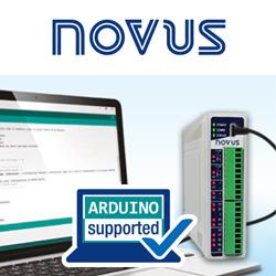 Arduino in der industriellen Messtechnik mit der DigiRail NXprog-Serie von Novus