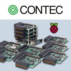 Bei den Boards des Herstellers Contec handelt es sich um HAT-Erweiterungsmodule, die den Funktionsumfang von Raspberry Pi-PCs in Fabrikautomatisierungs- und Messanwendungen erweitern