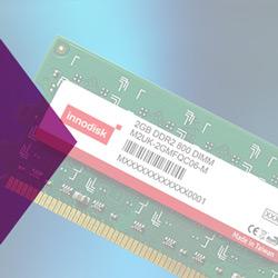 Hochwertige industrielle Speichermodule von Innodisk für Embedded- und Serveranforderungen. DDR4, DDR3, DDR2, DDR1 und SDRAM Serien erhalten Sie bei PLUG-IN Electronic