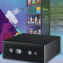Die DVC-1000 ist eine platzsparende 3D-Vision-Kamera in robuster Industriequalität des Premiumherstellers Vecow.
