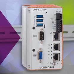 CONPROSYS CPS-BXC200-Serie: kompakte Embedded-PCs speziell für IoT-Edge-Computing