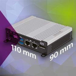 BX-U200-Serie von Contec – energiesparende Embedded-Computer in kompakter Größe mit USB Type-C zur Minimierung der Verkabelung
