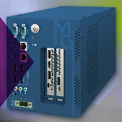 Der Hochleistungsrechner MIG-1000 ist ein KI-Computersystem mit AMD Ryzen und AMD Radeon Vega 11 Graphics vom Premiumhersteller Vecow.